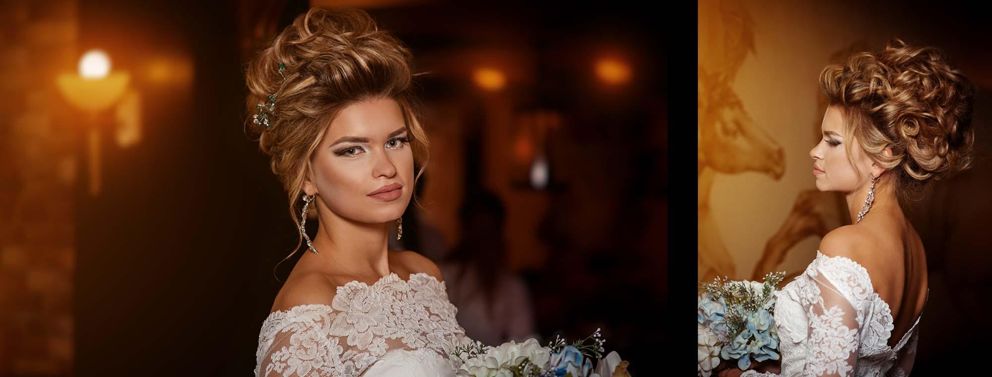 Фото причесок свадебных и макияж и прически и маникюр